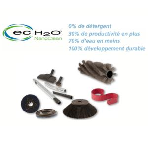 Technologie de nettoyage ecoH2O & Consommables