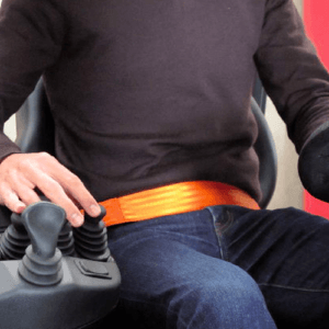 Ceinture de sécurité orange ou EASY BELT