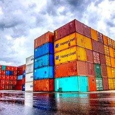 Conteneur, services portuaires
